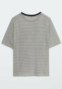 Massimo Dutti - Print T-shirt - white - 5