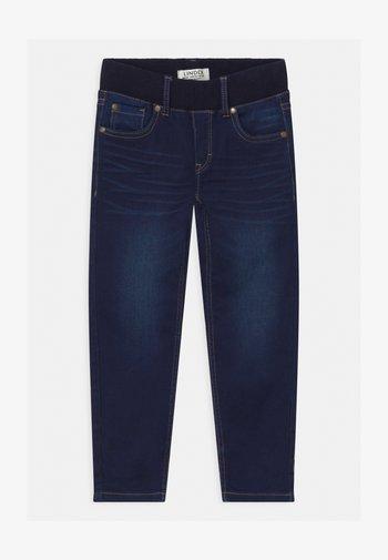MINI EDVIN PULL ON - Slim fit jeans - dark denim