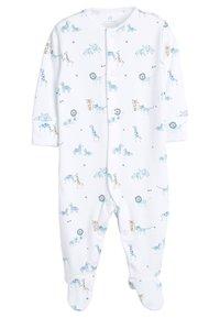 Next - BLUE DELICATE LION THREE PACK - Pyjamas - blue - 2