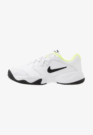 COURT LITE 2 - Multicourt tennis shoes - white/black/volt