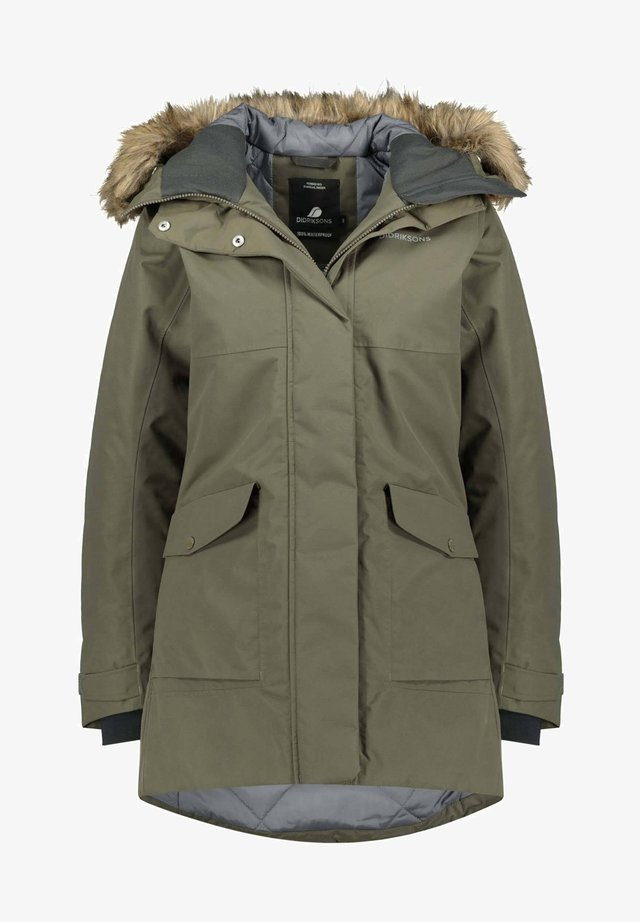 Outdoor jacket - olive