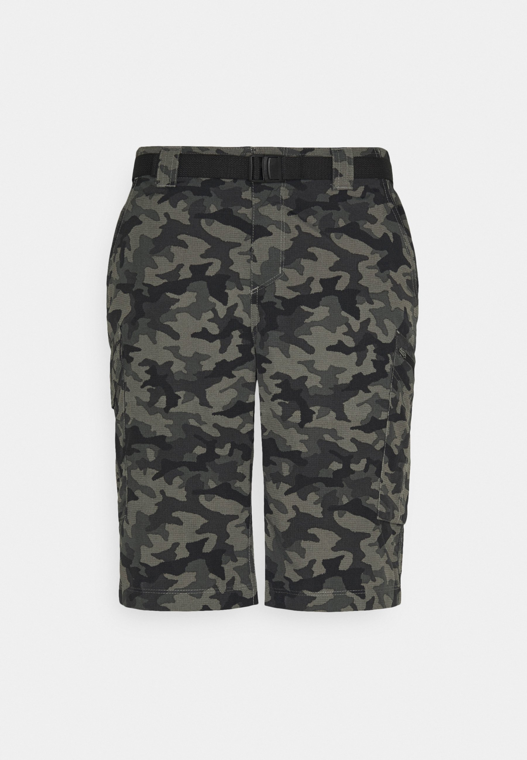 Men SILVER RIDGE™ PRINTED CARGO SHORT - Sports shorts - black