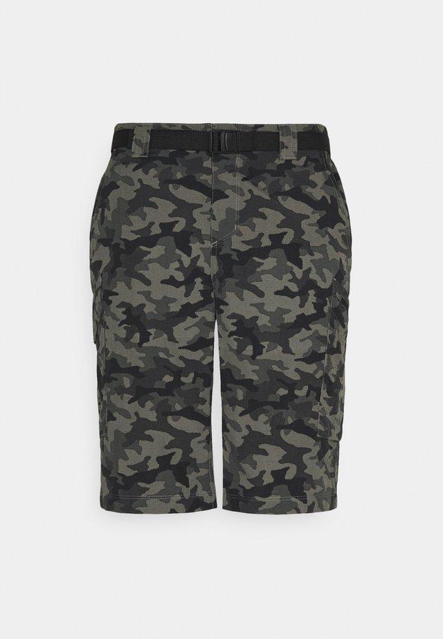 SILVER RIDGE™ PRINTED CARGO SHORT - Sports shorts - black