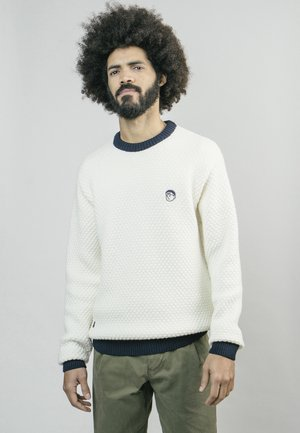AKITO - Sweatshirt - white