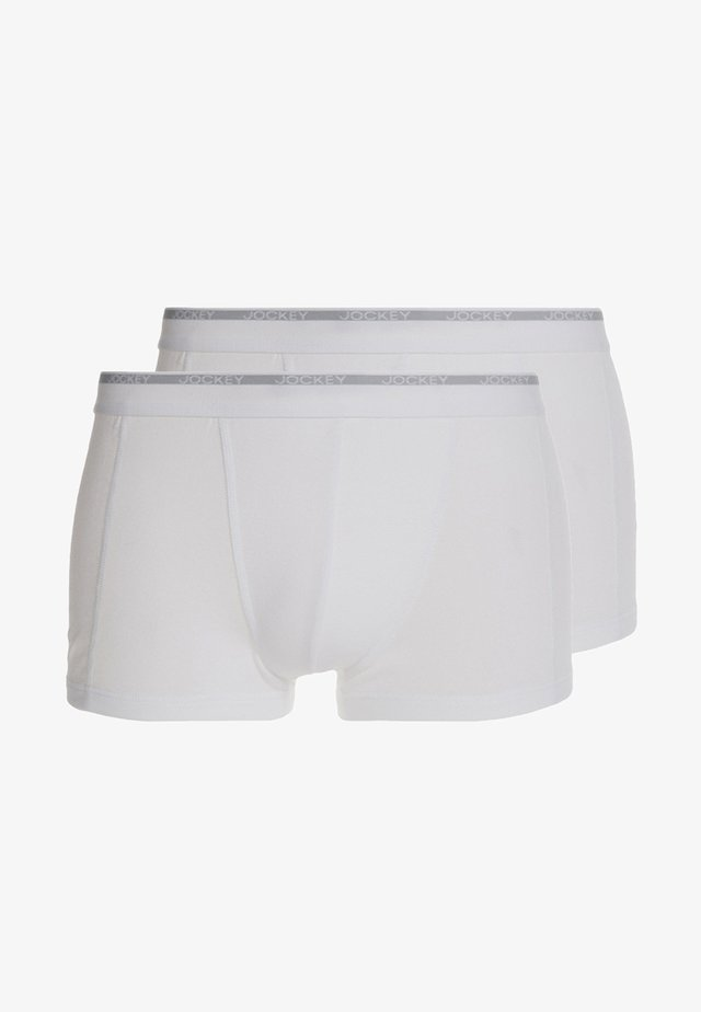 MODERN CLASSIC 2 PACK - Pants - white