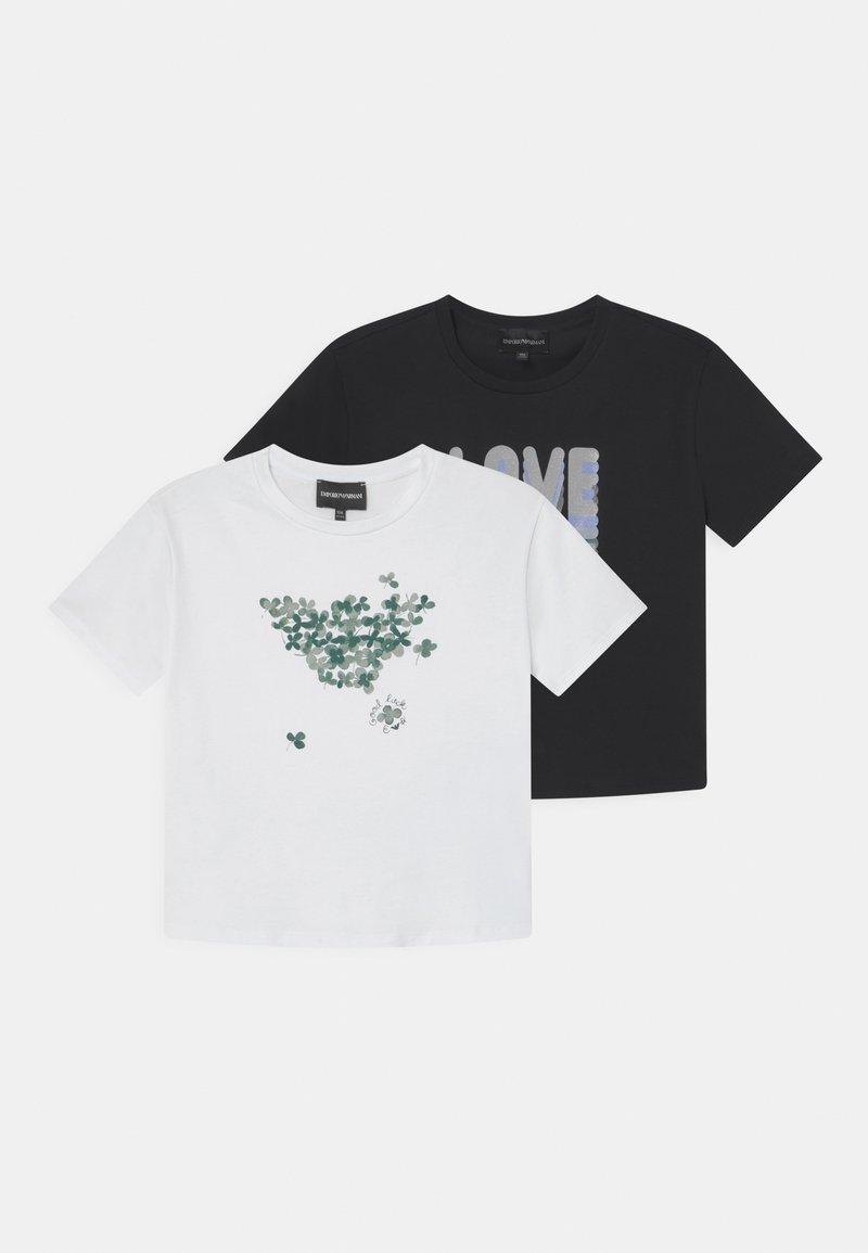 Emporio Armani - 2 PACK - T-Shirt print - multi-coloured
