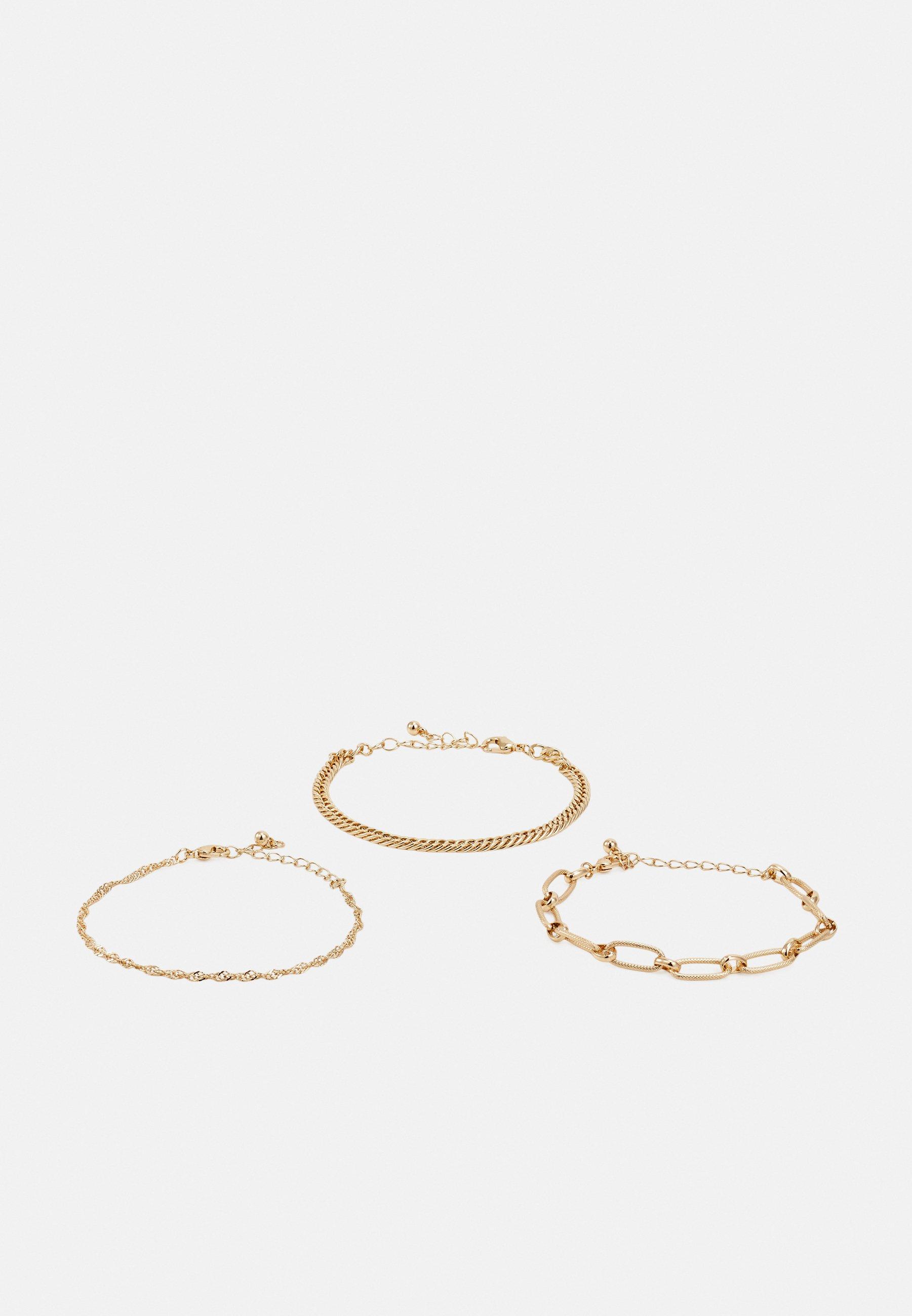 Femme CHAIN BRACELET 3 PACK UNISEX - Bracelet