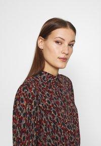Fabienne Chapot - COUNTRY DRESS - Skjortekjole - rust/bordeaux - 3