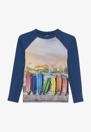NEPTUNE  - Rash vest - dark blue/multi-coloured