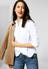 Street One - Button-down blouse - weiß - 0
