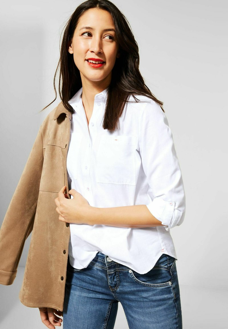 Street One - Button-down blouse - weiß