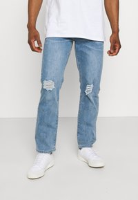Mennace - ON THE RUN DISTRESSED - Relaxed fit jeans - blue - 0