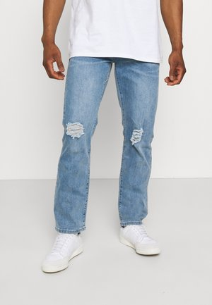 ON THE RUN DISTRESSED - Relaxed fit jeans - blue
