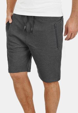 SWEATSHORTS TARAS - Shorts - dark grey melange
