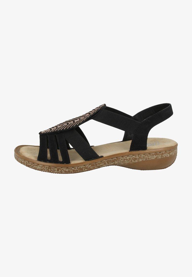 Rieker - Walking sandals - black
