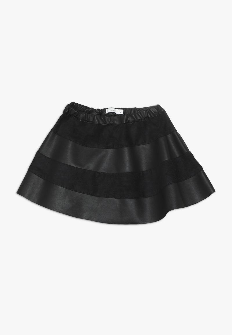 Name it - NKFSHANNON SKIRT - Falda acampanada - black