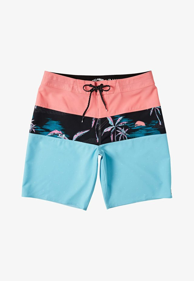 Shorts da mare - neon
