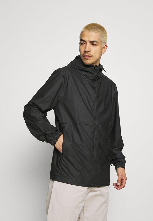 ULTRALIGHT JACKET UNISEX - Vodotěsná bunda - black