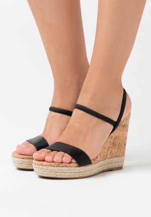HANENBURG - High heeled sandals - black