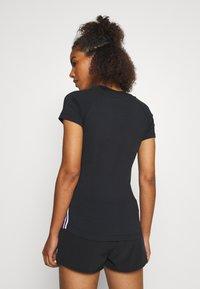 Björn Borg - TESIA TEE - Print T-shirt - black beauty - 3