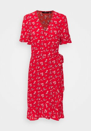 VMSAGA WRAP DRESS - Day dress - goji berry