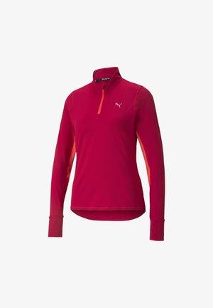 Sweatshirt - persian red-sunblaze