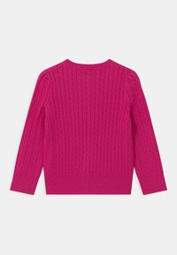 Polo Ralph Lauren - MINI CABLE - Cardigan - accent pink - 1