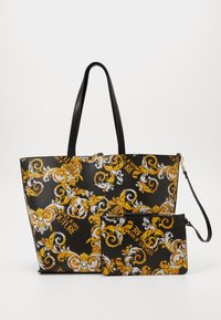 Versace Jeans Couture - Tote bag - black/yellow - 5
