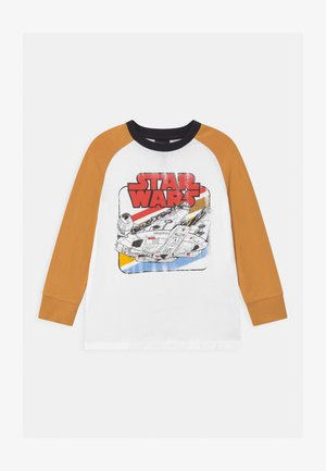 LUCASFILMS STAR WARS RAGLAN LICENSE - Maglietta a manica lunga - white