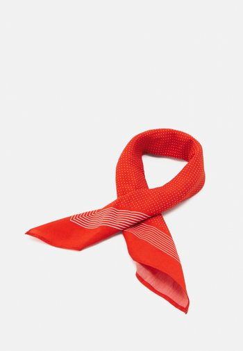 BANDANA ASLI - Skjerf - red/off white