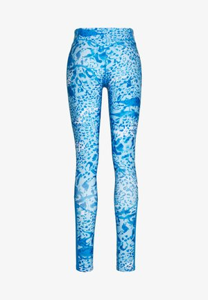 ONPANGILIA LIFE TRAINING TIGHT - Leggings - imperial blue/white