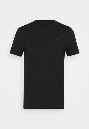 HERREN FRIDTJOF - Basic T-shirt - deep black