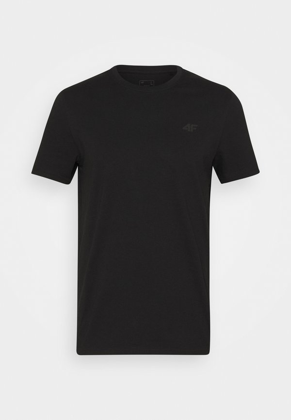 4F HERREN FRIDTJOF - T-shirt basic - deep black/czarny Odzież Męska ZKLH