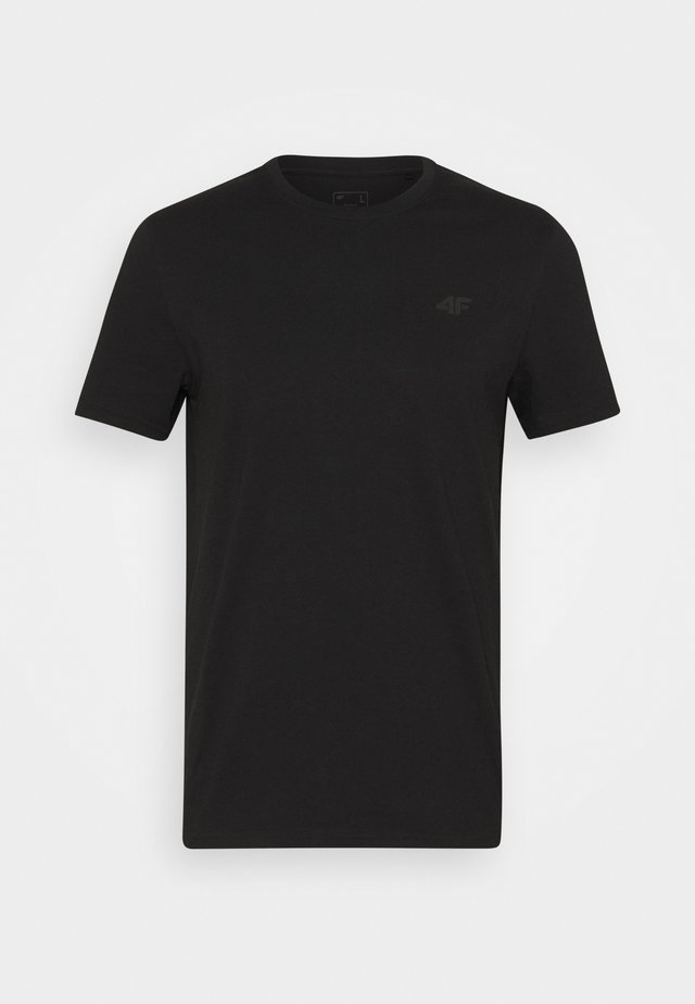 Men's T-shirt - Basic T-shirt - deep black
