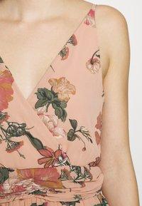 Vero Moda - VMSUNILLA DRESS - Długa sukienka - mahogany - 4