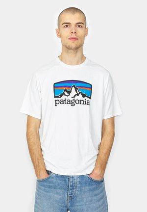 FITZ ROY HORIZONS - Camiseta estampada - white