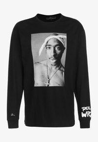 Chi Modu - REALITY 4 - Longsleeve - black/print white - 0