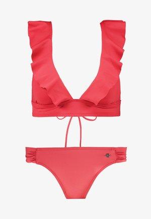 TRIANGLE SET - Bikini - rust red