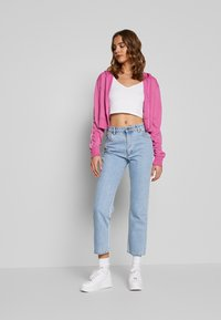 Nike Sportswear - HOODIE - Training jacket - cosmic fuchsia / white - 1