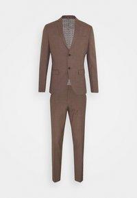 Isaac Dewhirst - PLAIN SUIT - Kostym - brown - 8