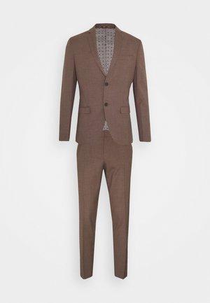 PLAIN SUIT - Suit - brown
