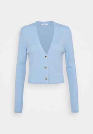 CROP - Vest - pale blue