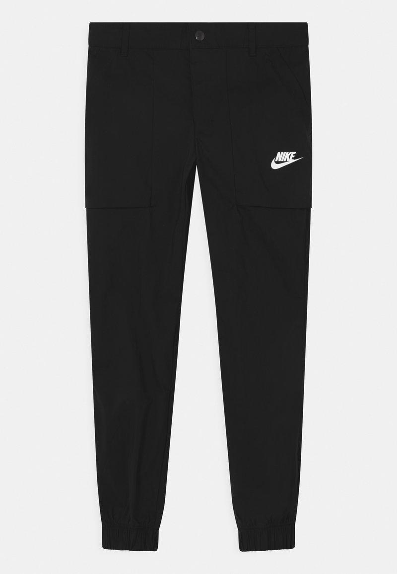 Nike Sportswear - WILD CARD - Kangashousut - black/white