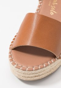 New Look Wide Fit - WIDE FIT POPPINS - Espadrilky - tan - 2
