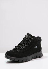 Skechers - SYNERGY-WINTER NIGHTS - Zapatillas altas - black - 2