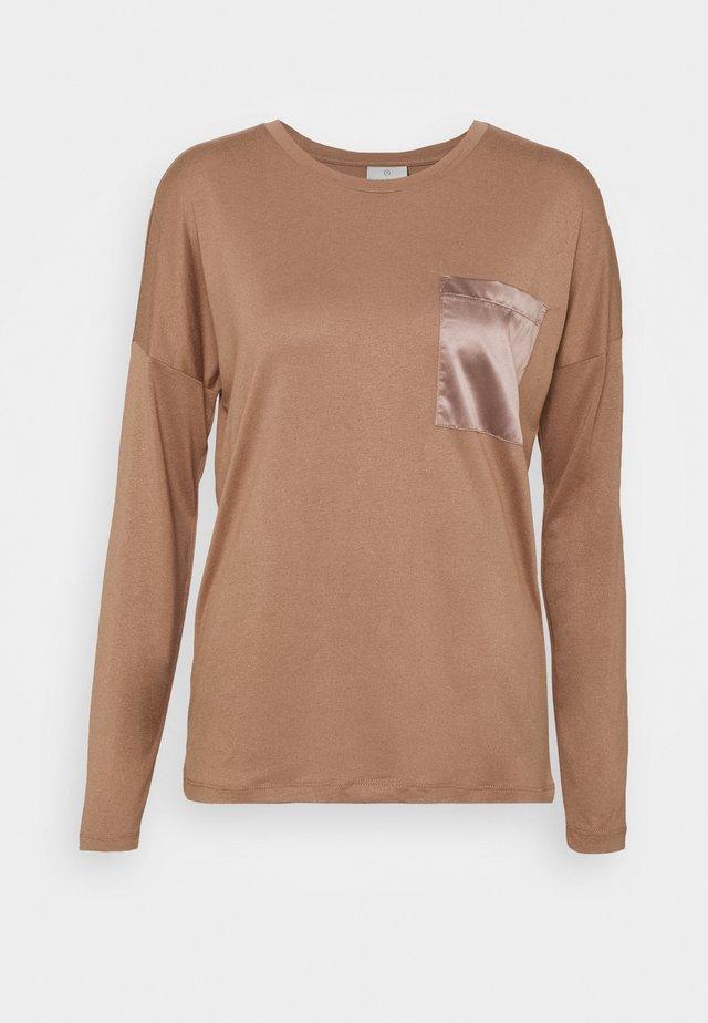 RUTH - T-shirt à manches longues - woodsmoke