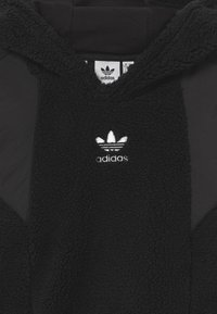 adidas Originals - TEDDY HOODIE UNISEX - Sweat polaire - black - 2