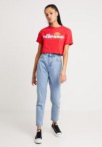 Ellesse - ALBERTA - T-shirts print - red - 1