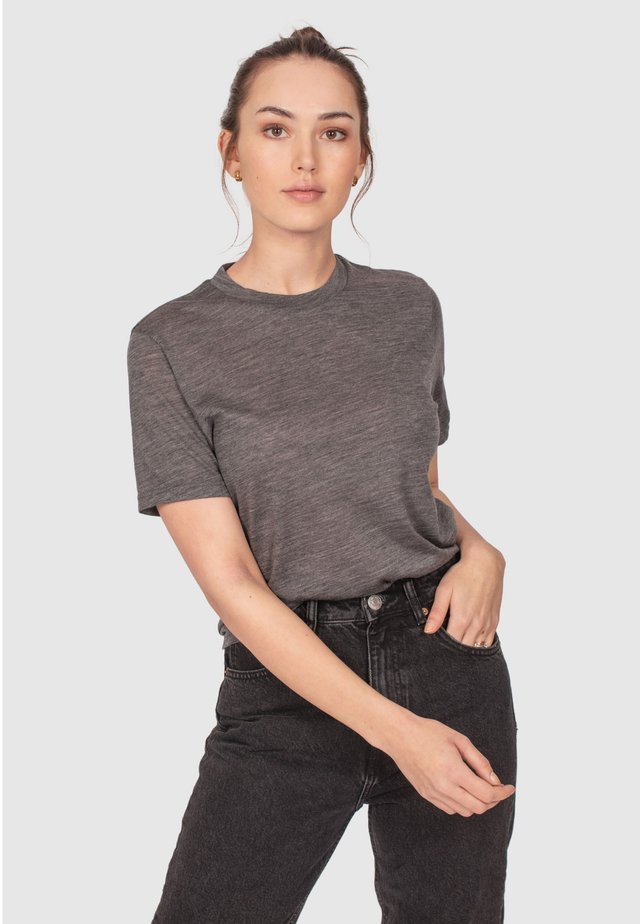 RELAXED - T-shirts basic - grey melange