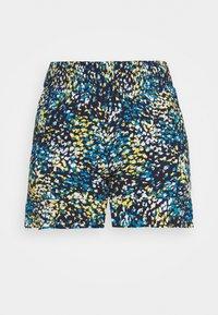CAPSULE by Simply Be - CRINKLE SHIRRED WAIST FRIM HEM - Shorts - blue - 3